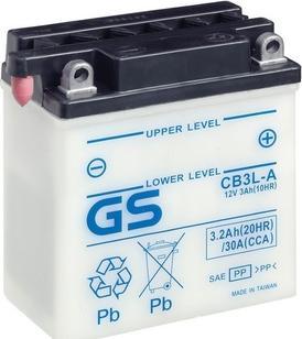 GS GS-CB3L-A - Startera akumulatoru baterija car-mod.com