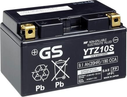 GS GS-YTZ10S - Стартерная аккумуляторная батарея, АКБ car-mod.com