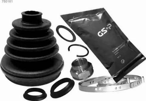 GSP 780181 - Комплект пылника, приводной вал autodnr.net