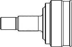 GSP 861002 - Шарнирный комплект, приводной вал autodnr.net