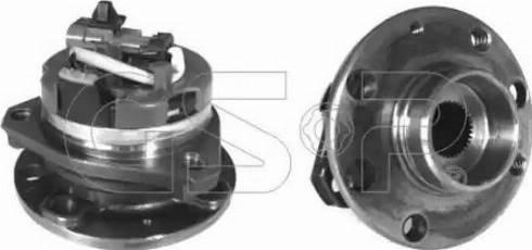 GSP 9333033 - Комплект подшипника ступицы колеса autodnr.net