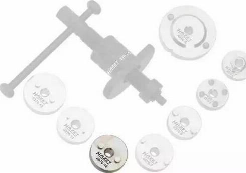 HAZET 497010 - Поворотный/возвратный инструмент, поршни тормозного сателлит avtokuzovplus.com.ua