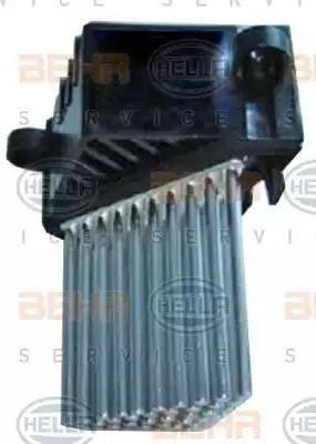 HELLA 5HL 351 321-511 - Регулятор, вентилятор салона car-mod.com