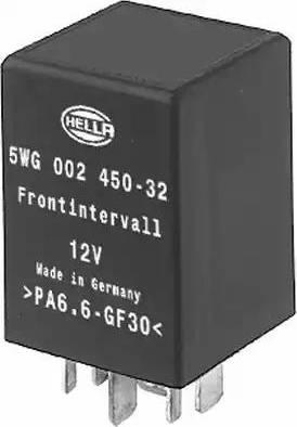 HELLA 5WG 002 450-321 - Реле, интервал включения стеклоочистителя car-mod.com