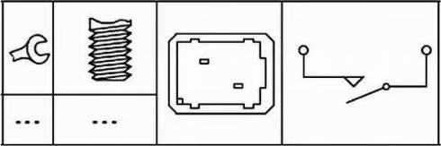 HELLA 6DD 179 465-081 - Выключатель, привод сцепления (управление двигателем) car-mod.com