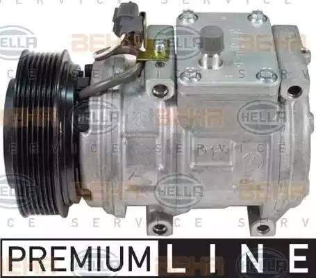 HELLA 8FK 351 105-061 - Компрессор, кондиционер car-mod.com