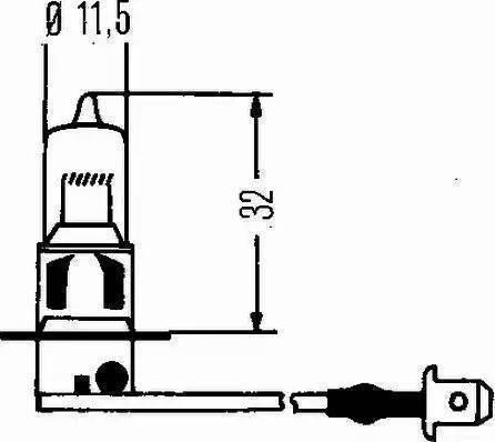 HELLA 8GH 002 090-271 - Лампа накаливания, противотуманная фара autodnr.net
