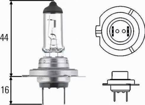 HELLA 8gh007157-481 - Лампа накаливания, основная фара autodnr.net