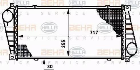 HELLA 8ML 376 720-391 - Интеркулер autodnr.net