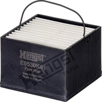 Hengst Filter E0530K01 - Паливний фільтр autocars.com.ua