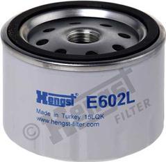 Hengst Filter E602L - Воздушный фильтр, компрессор - подсос воздуха car-mod.com