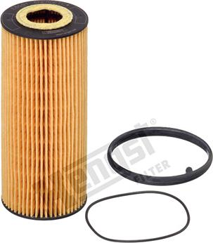 Hengst Filter E864H D184 - Масляний фільтр autocars.com.ua