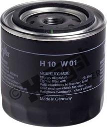 Hengst Filter H10W01 - Воздушный фильтр, компрессор - подсос воздуха car-mod.com