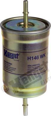 Hengst Filter H146WK - Паливний фільтр autocars.com.ua