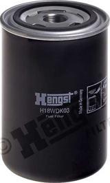 Hengst Filter H18WDK03 - Паливний фільтр autocars.com.ua
