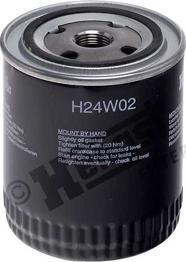 Hengst Filter H24W02 - Масляний фільтр autocars.com.ua
