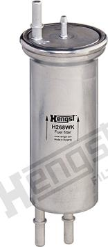 Hengst Filter H268WK - Паливний фільтр autocars.com.ua