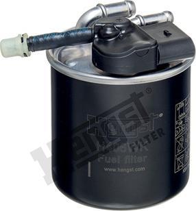 Hengst Filter H406WK - Паливний фільтр autocars.com.ua