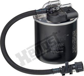 Hengst Filter H413WK - Паливний фільтр autocars.com.ua