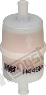 Hengst Filter H445WK - Воздушный фильтр, компрессор - подсос воздуха autodnr.net