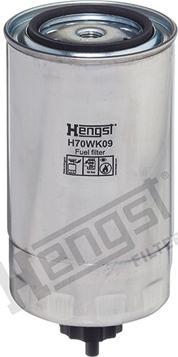 Hengst Filter H70WK09 - Паливний фільтр autocars.com.ua