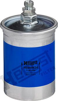 Hengst Filter H80WK04 - Паливний фільтр autocars.com.ua