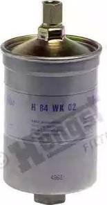Mann-Filter WK 853/1 - Паливний фільтр autocars.com.ua