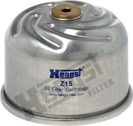 Hengst Filter Z15 D167 - Масляний фільтр autocars.com.ua