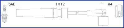 Hitachi 134236 - Комплект проводов зажигания avtokuzovplus.com.ua