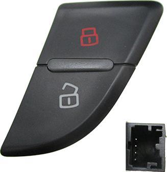 Hoffer H206012 - Выключатель, фиксатор двери car-mod.com