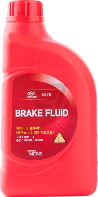 Hyundai 0110000110 - Тормозная жидкость car-mod.com