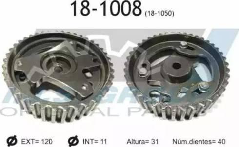 IJS GROUP 18-1008 - Шестерня, распределительный вал car-mod.com