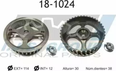 IJS GROUP 18-1024 - Шестерня, розподільчий вал autocars.com.ua