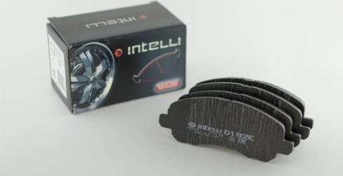 Intelli D192E - Тормозные колодки, дисковые car-mod.com