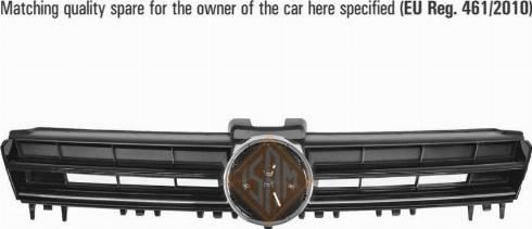 Isam 0942511 - Решітка радіатора autocars.com.ua