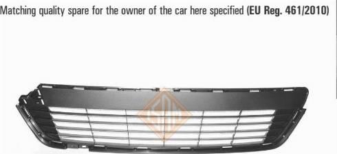 Isam 2315710 - Решітка вентилятора, буфер autocars.com.ua