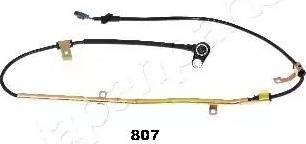 Japanparts ABS-807 - Датчик ABS, частота вращения колеса autodnr.net