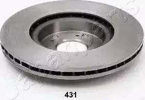 Japanparts DI-431 - Тормозной диск autodnr.net