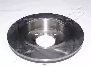 Japanparts DP-126 - Тормозной диск autodnr.net