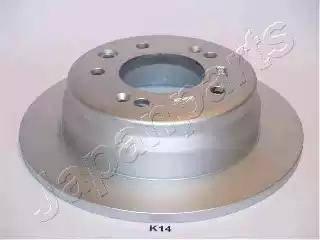 Japanparts DP-K14 - Тормозной диск autodnr.net
