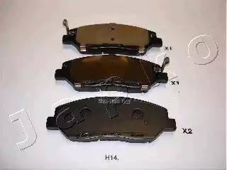 Japko 50H14 - Комплект тормозных колодок, дисковый тормоз autodnr.net