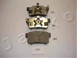 Japko 51445 - Тормозные колодки, дисковые car-mod.com