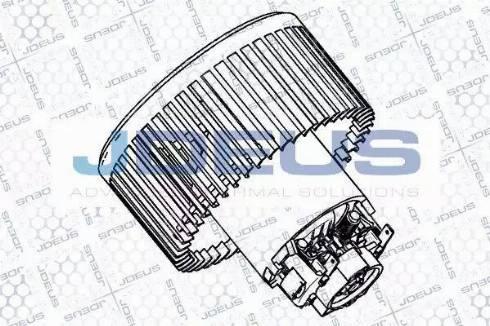 Jdeus BL0230004 - Электродвигатель, вентиляция салона car-mod.com