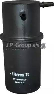 JP Group 1118706800 - Паливний фільтр autocars.com.ua