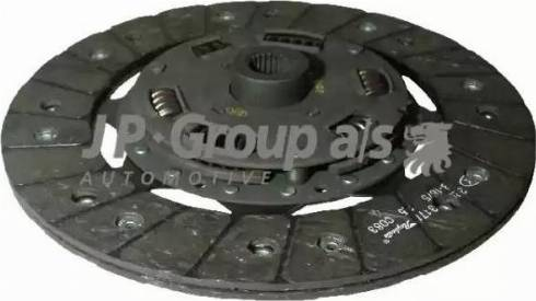 JP Group 1130201800 - Диск сцепления autodnr.net