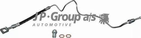 JP Group 1161500270 - Трубопровод тормозного привода car-mod.com