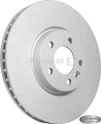 JP Group 1163114500 - Тормозной диск autodnr.net