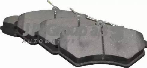 JP Group 1163602010 - Комплект тормозных колодок, дисковый тормоз autodnr.net