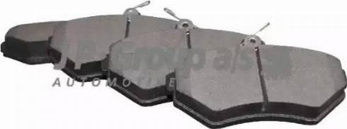 JP Group 1163604910 - Тормозные колодки, дисковые car-mod.com