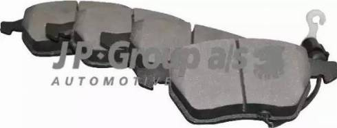 JP Group 1163605210 - Тормозные колодки, дисковые car-mod.com